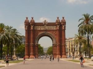 Triumphbogen von Barcelona